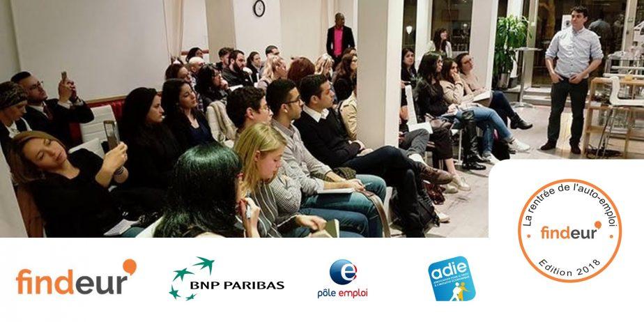 La Rentrée de l'Auto-Emploi - par Findeur et BNP Paribas