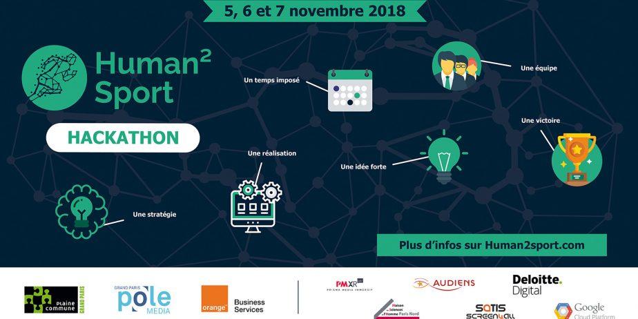 """Hackathon Human2Sport """"Nouvelles expériences spectateurs : Sport et Territoire"""""""