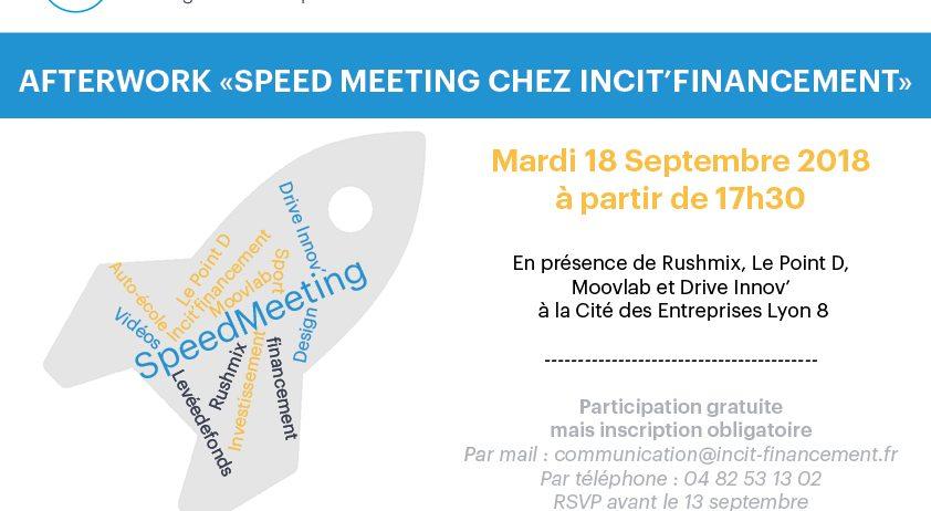 Afterwork Speed Meeting Incit'financement