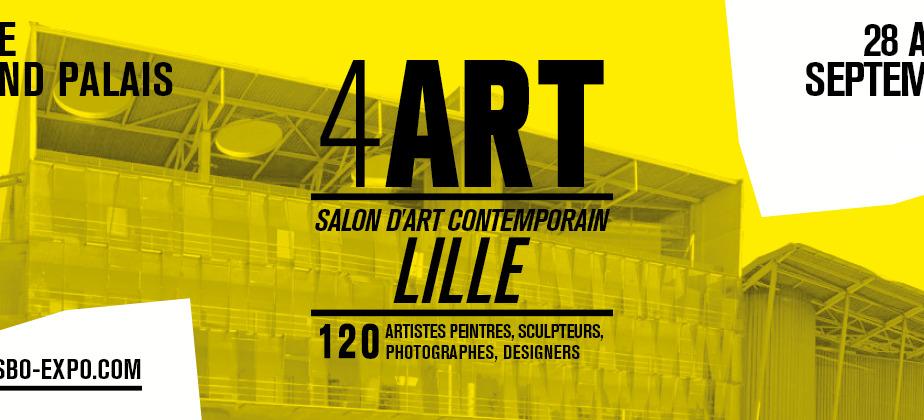 Salon d'art contemporain 4 ART Lille 2018