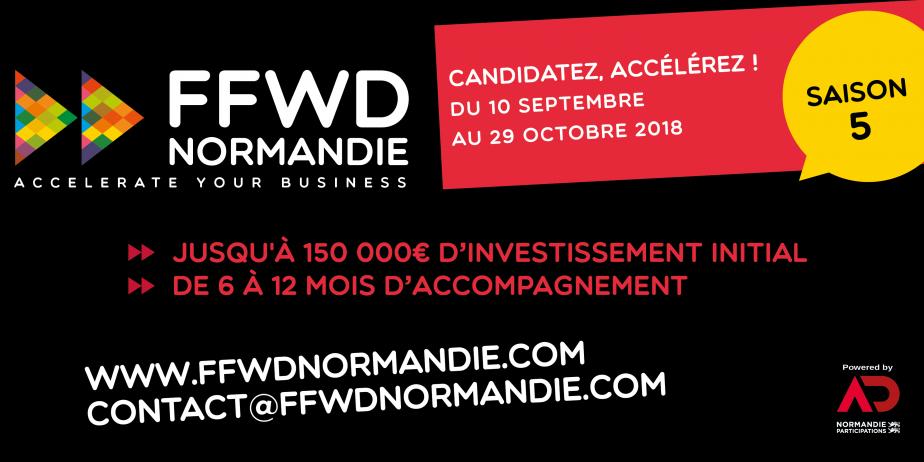 Ouverture des candidatures : Accélérateur FFWD Normandie