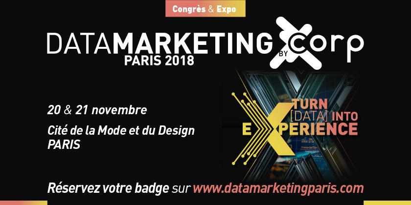 Data Marketing 2018 :  Turn Data into Experience