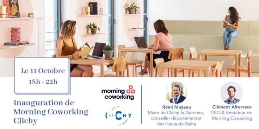 Soirée d'Inauguration Morning Coworking Clichy
