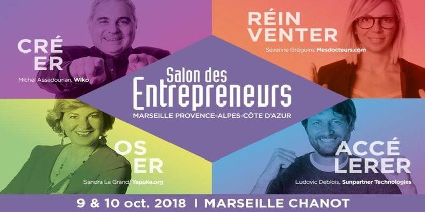 Salons des Entrepreneurs Marseille Provence - Alpes - Côte d'Azur