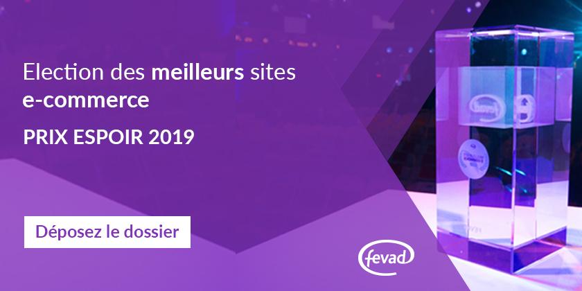 Nuit des Favor'i 2018 - Meilleur Espoir e-commerce 2019