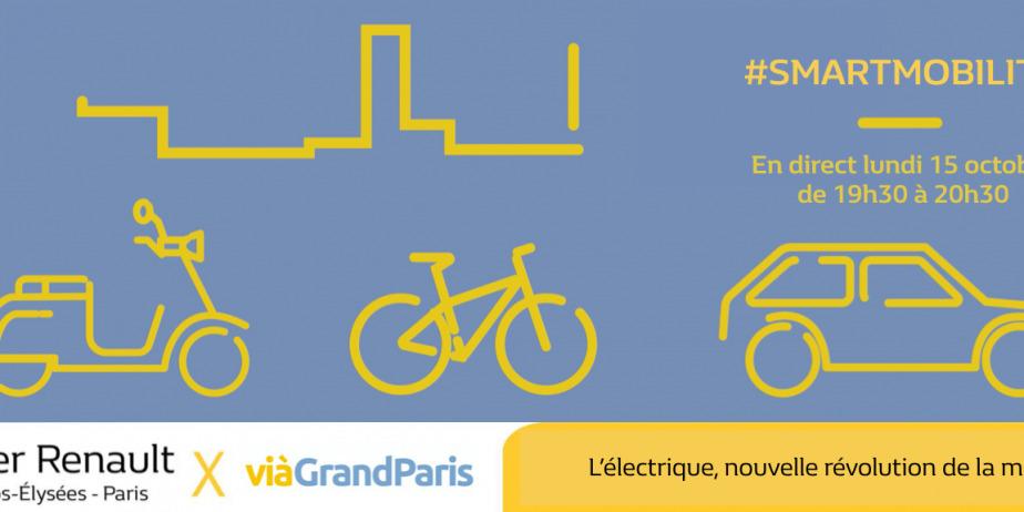 SmartMobility - L'électrique, nouvelle révolution de la mobilité ? à L'Atelier Renault