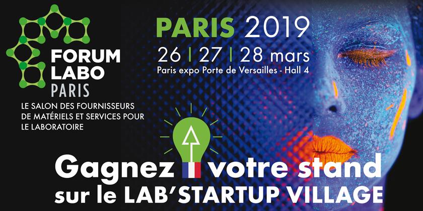 Gagnez votre stand sur Forum LABO Paris