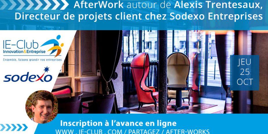 After Work autour de Alexis Trentesaux, Directeur de projets client chez Sodexo Entreprises
