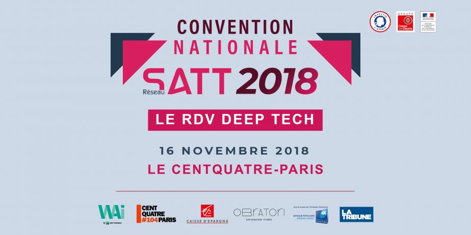 Convention nationale des SATT 2018