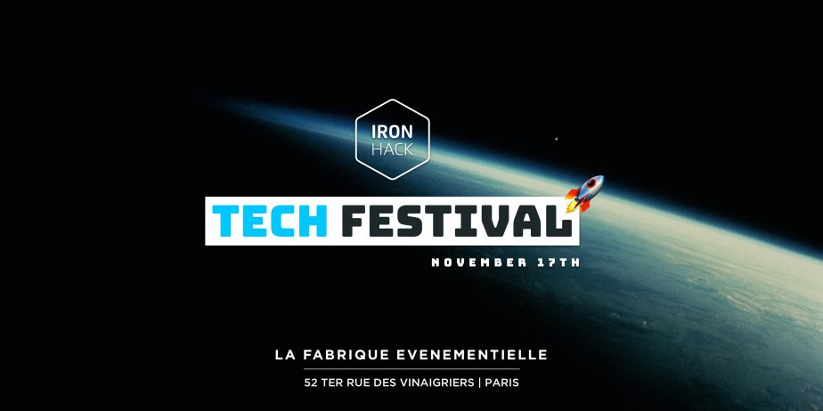 Premier Ironhack Tech Festival à Paris