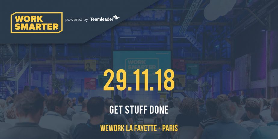 #Work Smarter France 2018