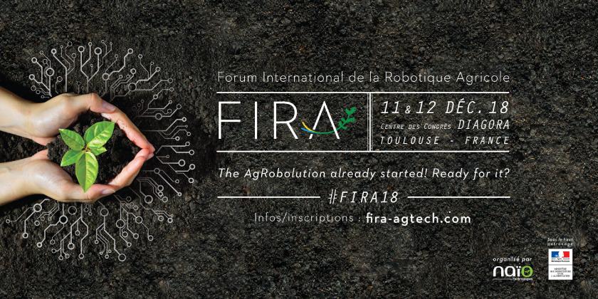 3è Forum International de la Robotique Agricole - FIRA 2018