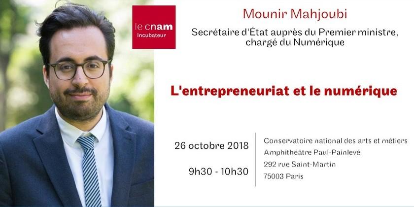 Conférence : l'entrepreneuriat et le numérique