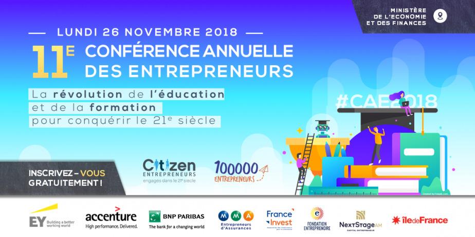 11e édition de la Conférence Annuelle des Entrepreneurs
