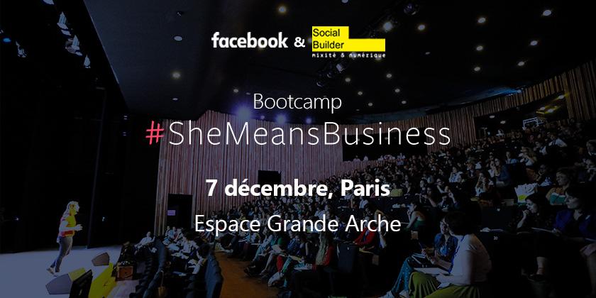 #SheMeansBusiness Paris: une journée intensive pour booster la carrière de 2000 femmes
