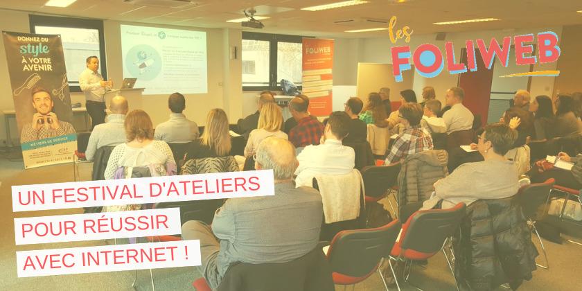 2 ateliers pour réussir avec le web