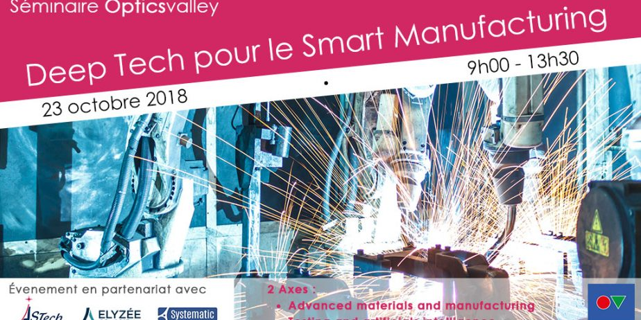 Deep Tech pour le Smart Manufacturing