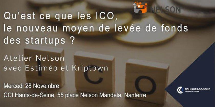 Les ICO, un nouveau moyen de levée de fonds pour les startups ? Atelier Club Nelson