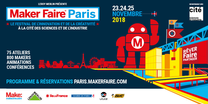 MAKER FAIRE PARIS 2018