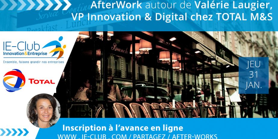 After Work autour de Valérie Laugier, Vice-Présidente Innovation and Digital Total Marketing & Services