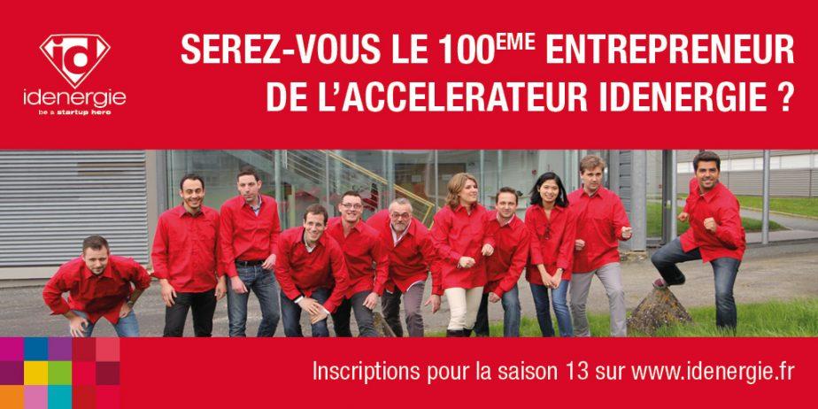 Ouverture des inscriptions pour la saison 13 de l'accélérateur de startups Idenergie !