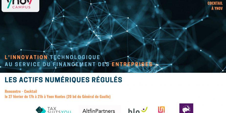 L'innovation technologique au service du financement des entreprises : les actifs numériques régulés