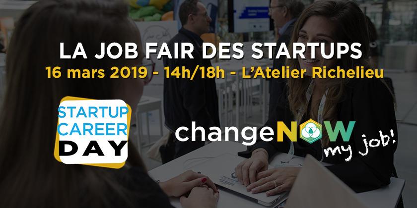 La job fair des startups de la tech et du positive impact