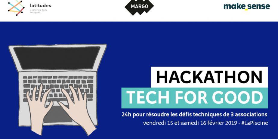 Hackathon Tech for Good : 24h pour résoudre les défis technologiques de 3 associations