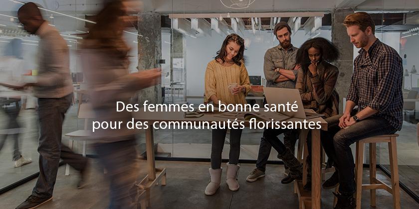 Appel à toutes les startups qui s'emploient à améliorer l'accès des femmes à la santé grâce à la technologie