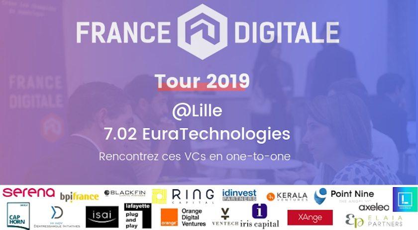 France Digitale Tour Lille