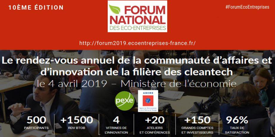 Forum national des éco-entreprises - 10ème édition