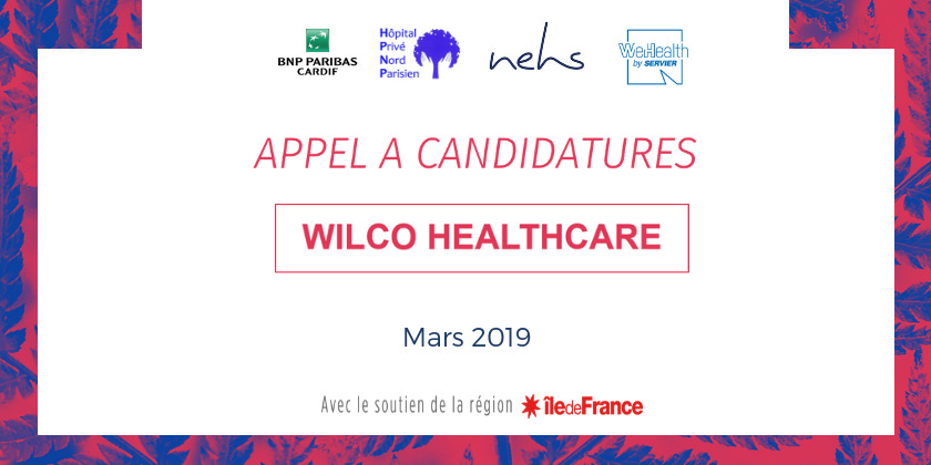 Appel à candidatures Wilco Healthcare