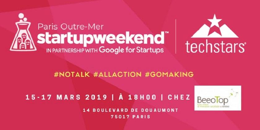Startup Weekend Paris Outre-Mer