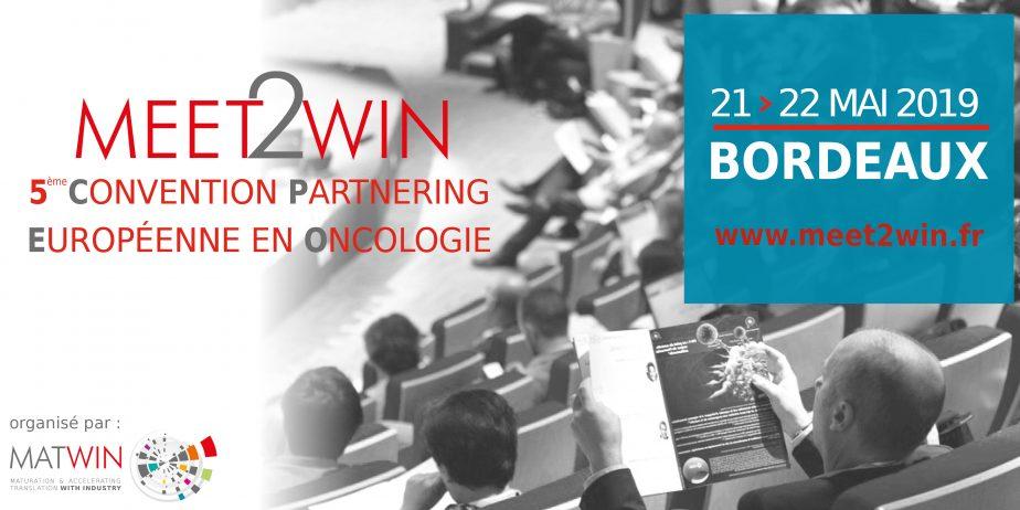 MEET2WIN Convention Partnering en Oncologie