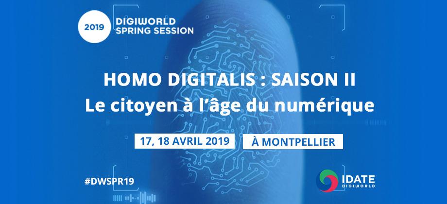 DigiWorld Spring Session : le citoyen à l'âge du numérique