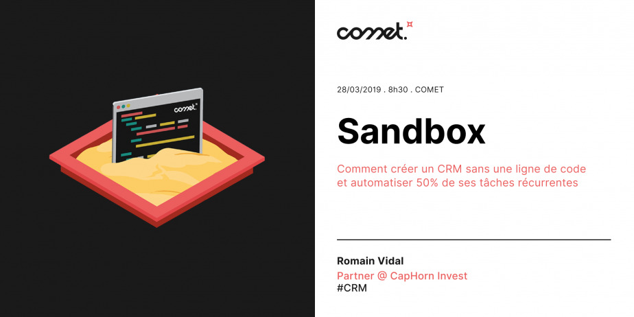 Sandbox - Comment créer un CRM sans une ligne de code