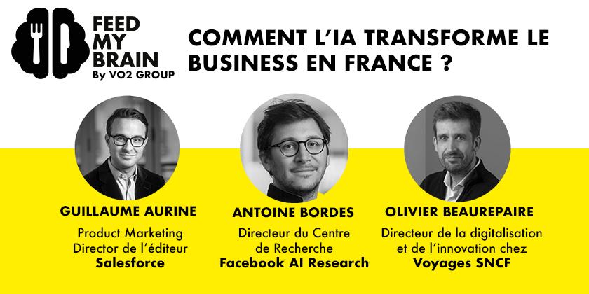Comment l'IA transforme le business en France ?