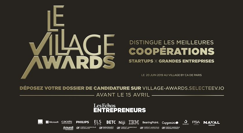 Appel à candidatures - Village Awards 2019