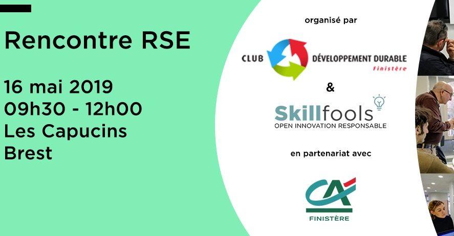 Rencontre RSE avec le Club Développement Durable du Finistère et Skillfools