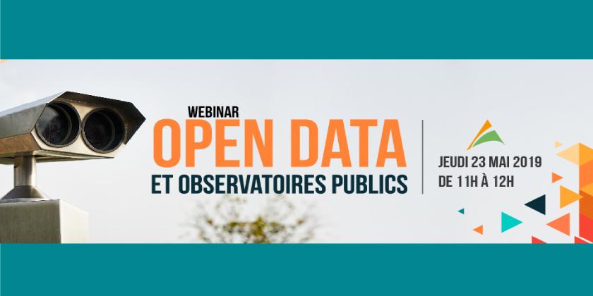 """Webinar """"Open Data et Observatoires publics avec Pentaho"""""""