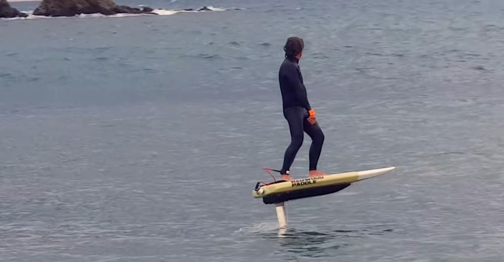 Redwoodpaddle, le surf volant made in France