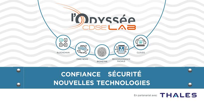 Nouvelles technologies : la sécurité et la confiance au coeur de l'Odyssée du CDSE Lab