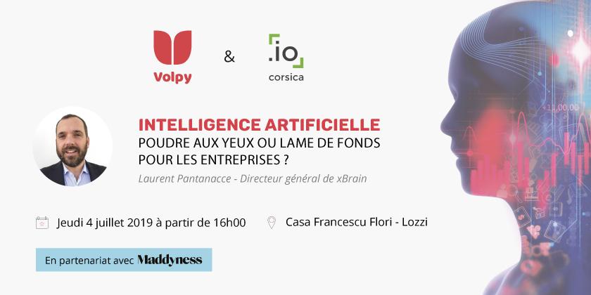 Conférence : Intelligence Artificielle, poudre aux yeux ou lame de fonds pour les entreprises ?