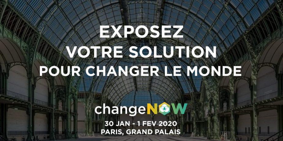 ChangeNOW 2020 I Exposition Universelle des Solutions pour la planète