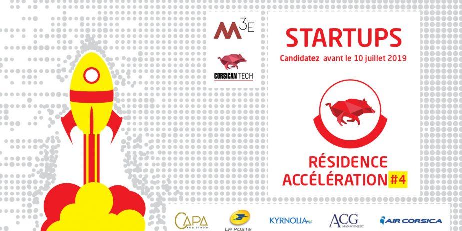 4ème résidence d'accélération réservée aux startup corses organisée par la M3E et la Corsican Tech