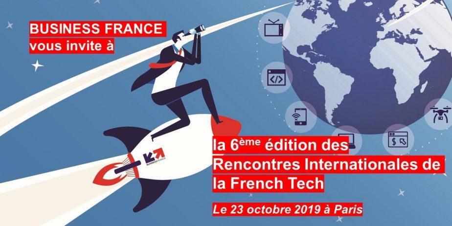 Les Rencontres Internationales de la French Tech 2019
