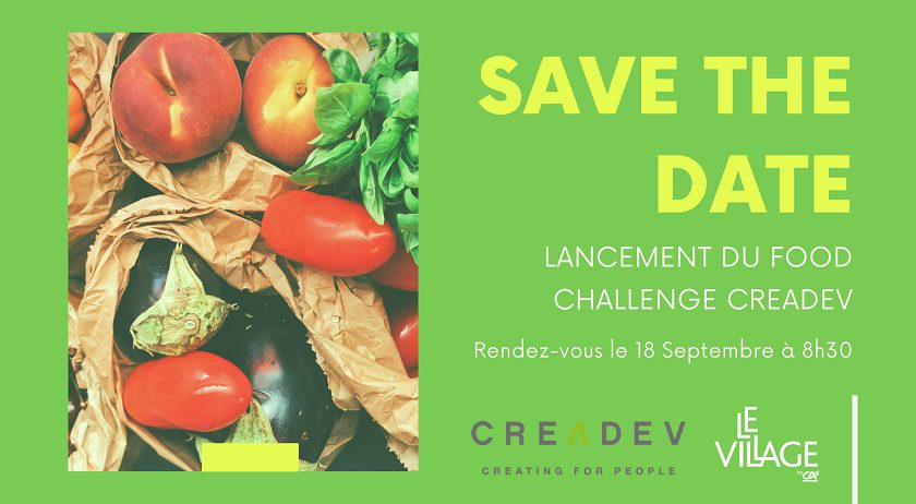 Kick-off - Petit déjeuner de lancement du Food Challenge Creadev