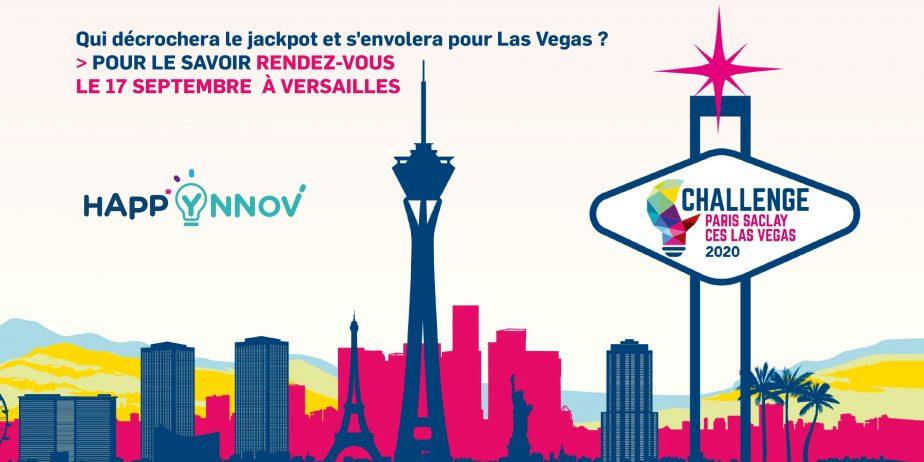 Happ'Ynnov, spécial Challenge Paris-Saclay CES Las Vegas 2020