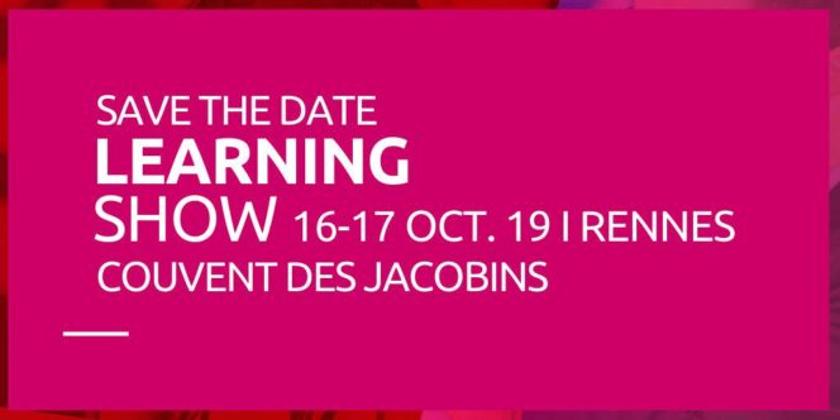 Le learning Show : 3e édition