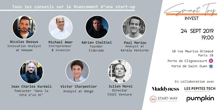 Smart Try Invest - Le financement de start-up